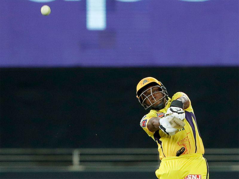 DJ Bravo helped get Chennai back on track against Mumbai