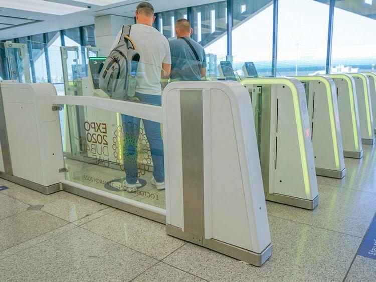 Dubai Expo smart gates