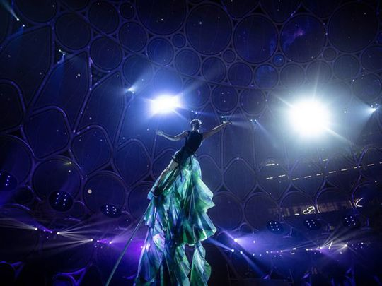 Expo 2020 Dubai rehearsal