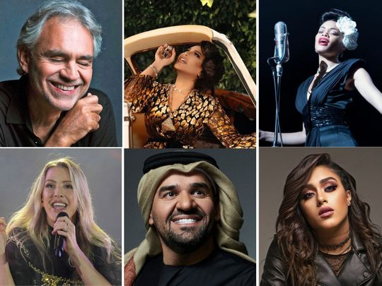 In pictures: Ellie Goulding, Andrea Bocelli, Hussain Al Jassmi among artists to open Expo 2020 Dubai on September 30