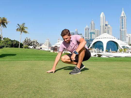 Matt Perry of Emirates Golf Glub