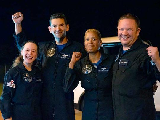 Orbit astronauts amateur