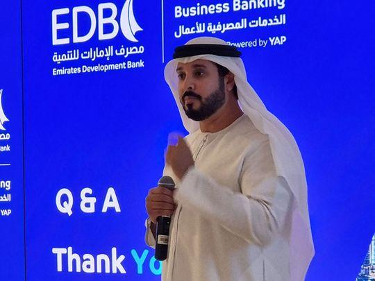 Ahmed Mohamed Al Naqbi, Chief Executive Officer of EDB