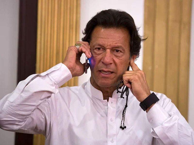 Imran Khan Pakistan phone