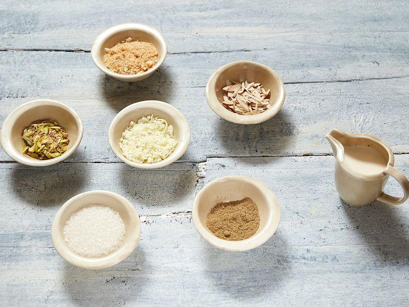 Ingredients for Patiyala Kulfi