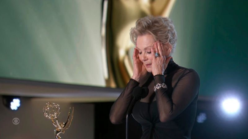 Jean Smart with her Emmy