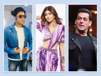 Kapil Sharma, Shilpa Shetty, Salman Khan