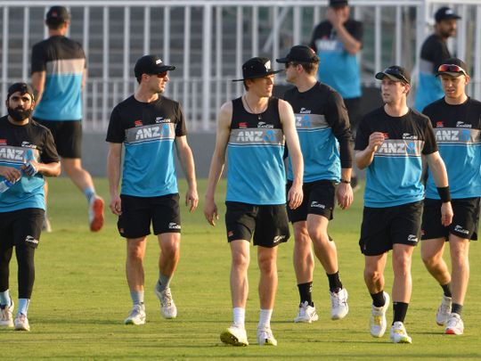 New Zealand cricket team in Pakistan