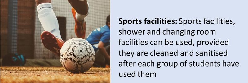 Protocols when using other facilities: