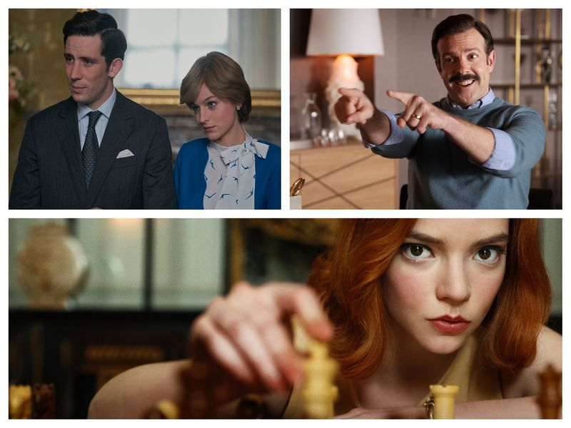The Crown, Ted Lasso, The Queen's Gambit