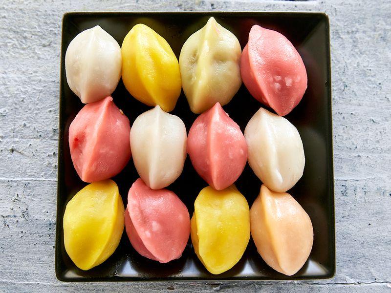 songpyeon korean rice cakes