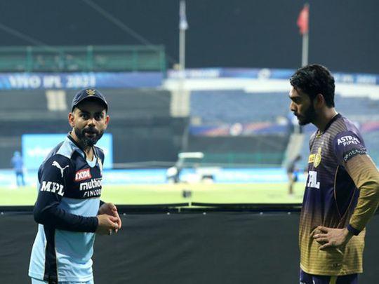 IPL - Virat Kohli & Venkatesh Iyer