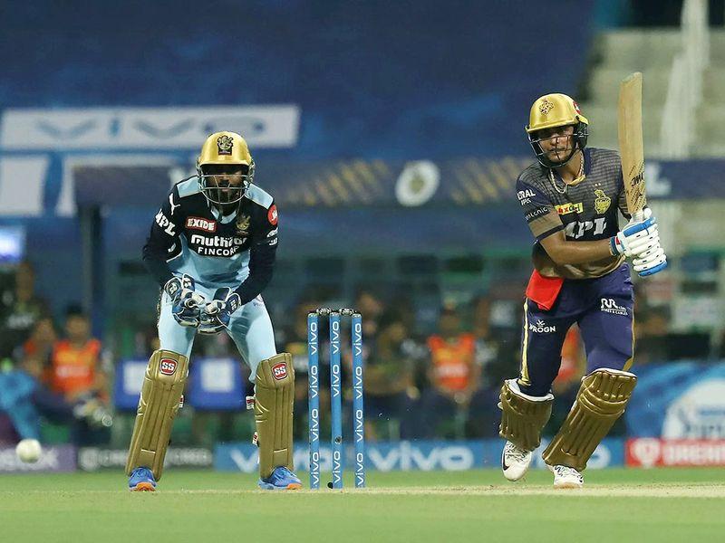 KKR thrashed RCB in the IPL in Abu Dhabi
