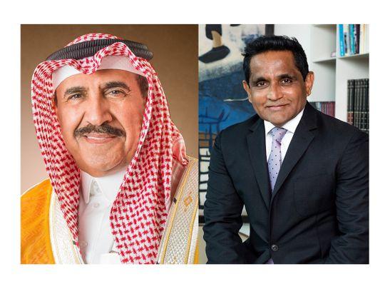 Left to right: Abdulaziz Abdulhadi Al-Qahtani, Chairman TriBonds Chemical Co. & Sudhir Menon, Chairman and Managing Director for Dorf Ketal