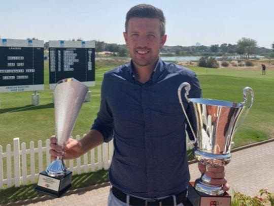 Luke Plumb (JA The Resort), defending champion for the UAE PGA Order of Merit and the UAE PGA Matchplay Championship
