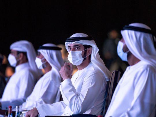Sheikh Hamdan at Gastech 2021