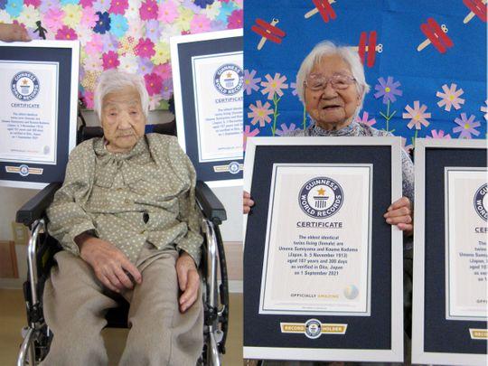 Twins oldest Japan