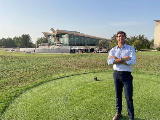 Andrea Faldella, Club Operations Manager at Abu Dhabi Golf Club