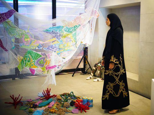 Hammour House event held at Al Serkal Avenue