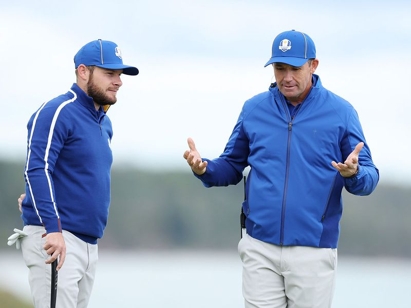 Team Europe got to grips with Whistling Straits ahead of the Ryder Cup 2021