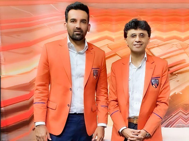 Zaheer Khan with Anis Sajan