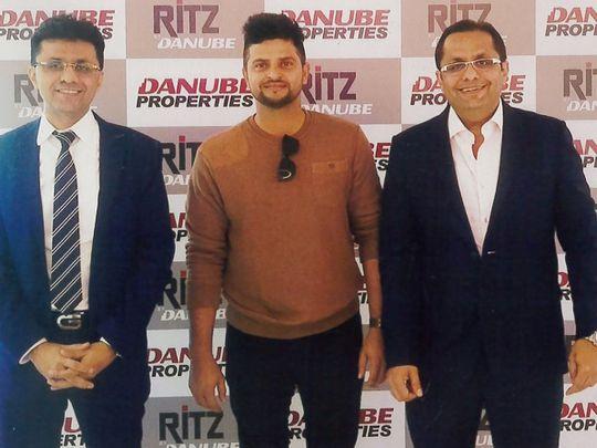 IPL - Suresh Raina with Sajans
