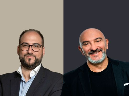 Michele Giordani, Managing Partner and Founder, GELLIFY & Massimo Cannizzo, CEO and Co-founder, GELLIFY