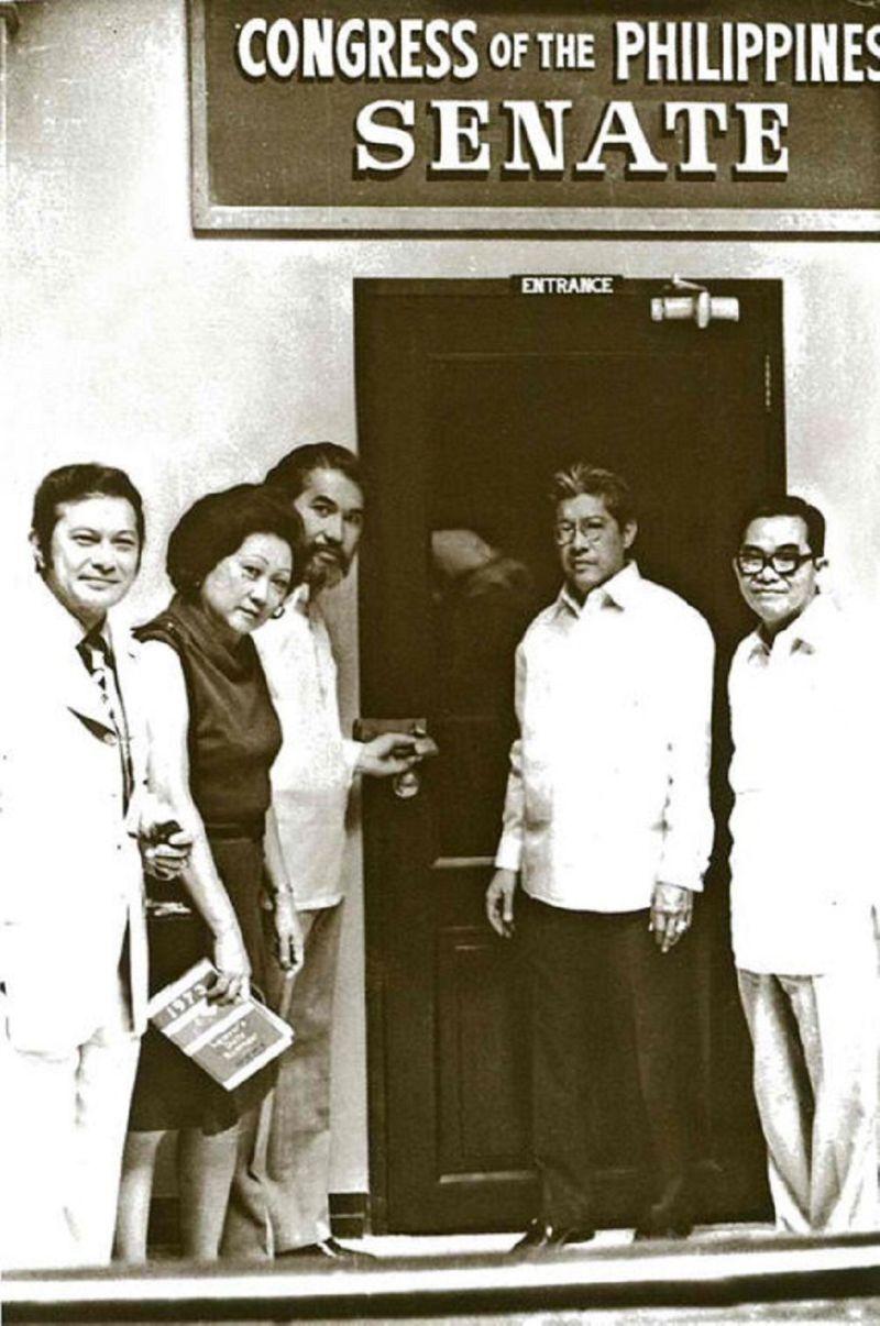 Philippine Senate shut down