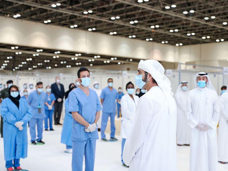 Sheikh Hamdan visit