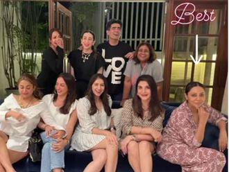 Manish Malhotra with his star friends