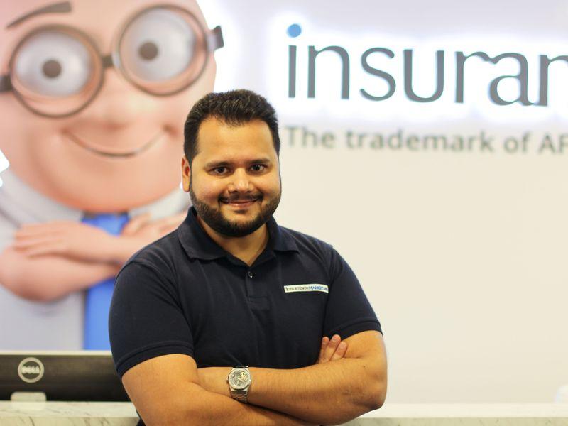 Stock - Avinash Babur of InsuranceMarket.ae