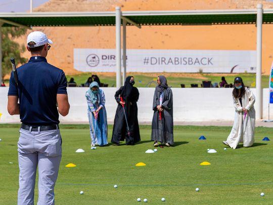 Dirab Golf and Country Club has reopened in Saudi Arabia