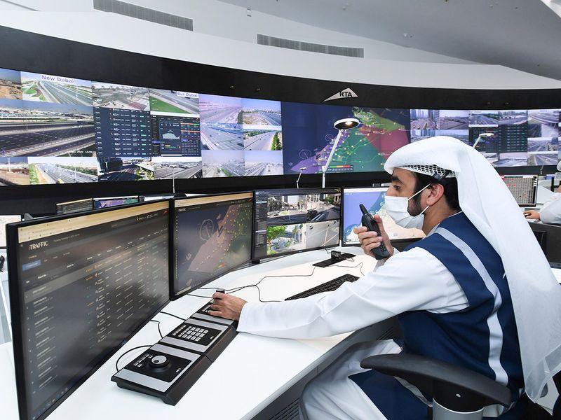 Expo 2020 Dubai RTA control room