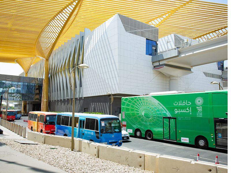 Expo 2020 Dubai buses