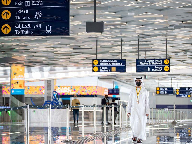 RTA Route 2020 Dubai Metro Station