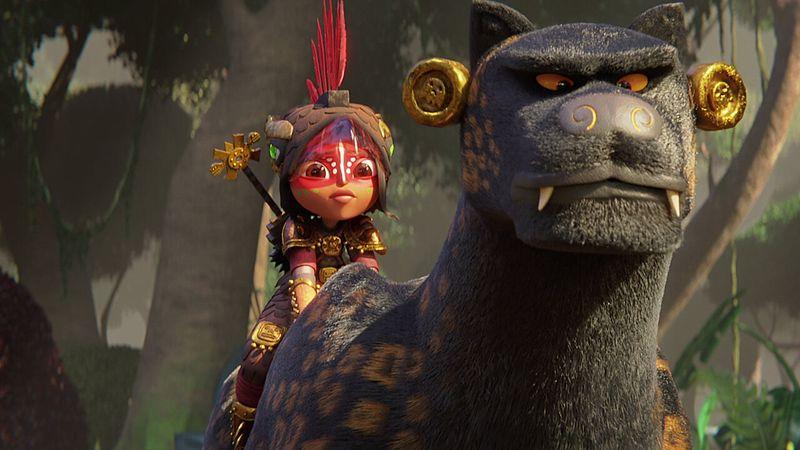 'Maya and the Three'