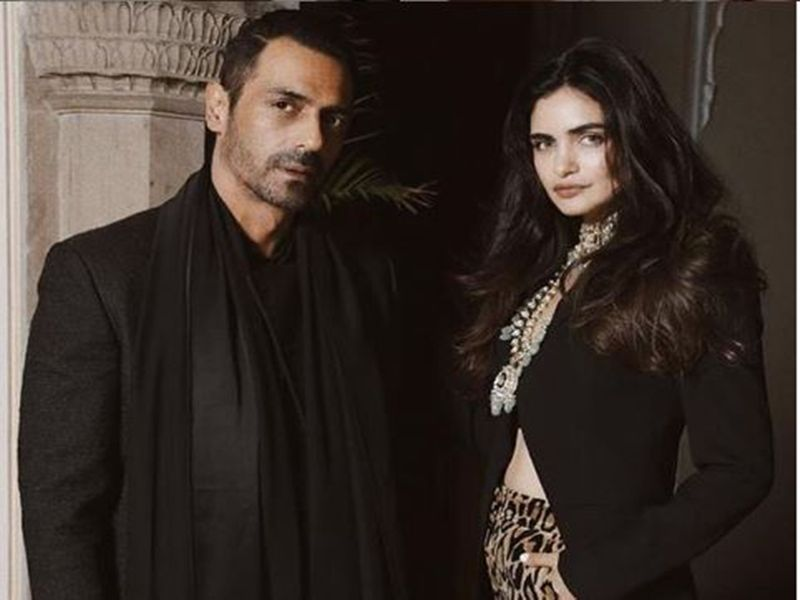 Arjun Rampal and girlfriend Gabriella Demetriades