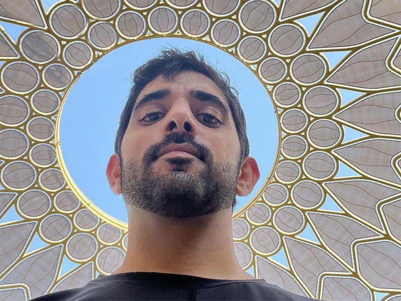 Hamadan visits Expo 2020
