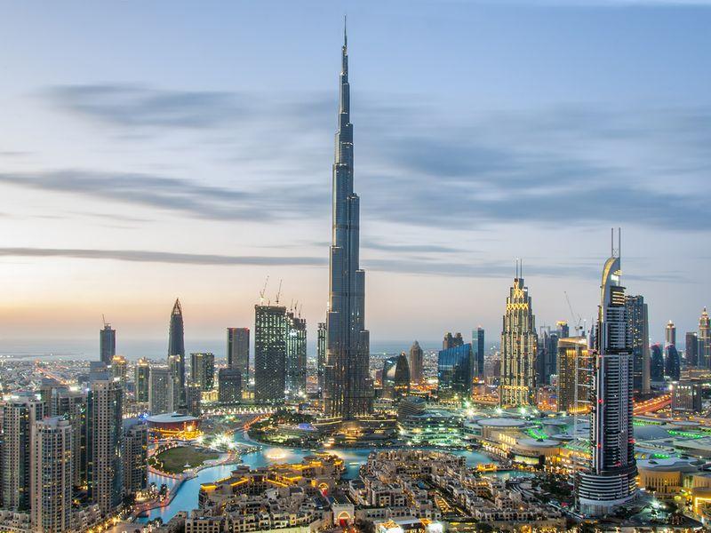 Stock - Dubai skyline
