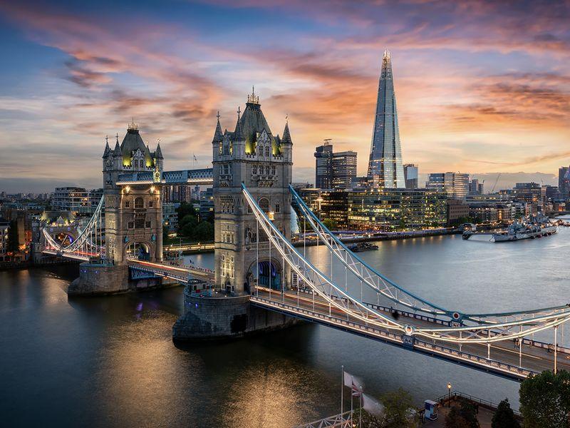 Stock - London skyline