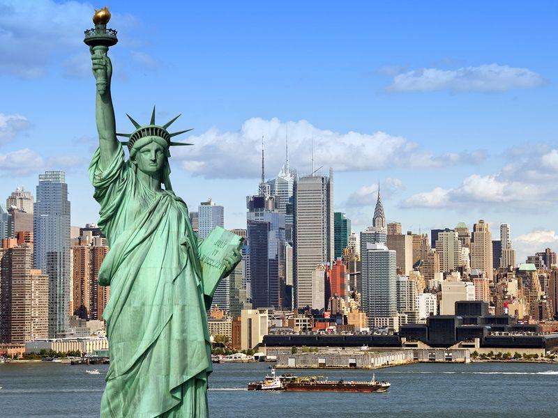 Stock - New York skyline