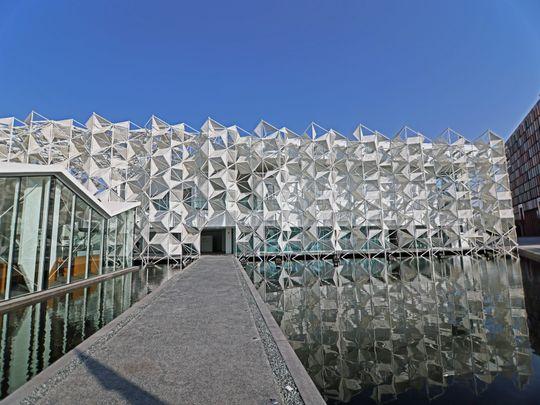 The Japanese Pavilion at the Expo 2020 Dubai