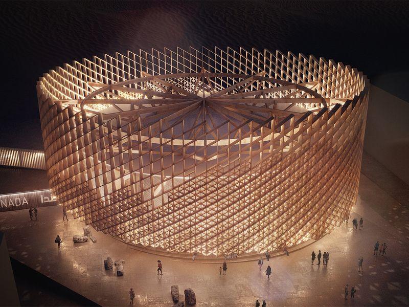 canada pavilion expo 2020