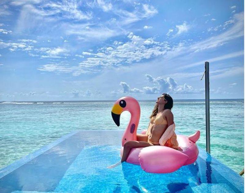 Ananya Panday in Maldives