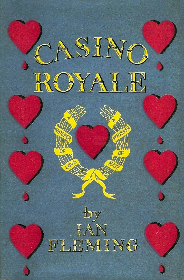 Casino Royale book by Ian Fleming