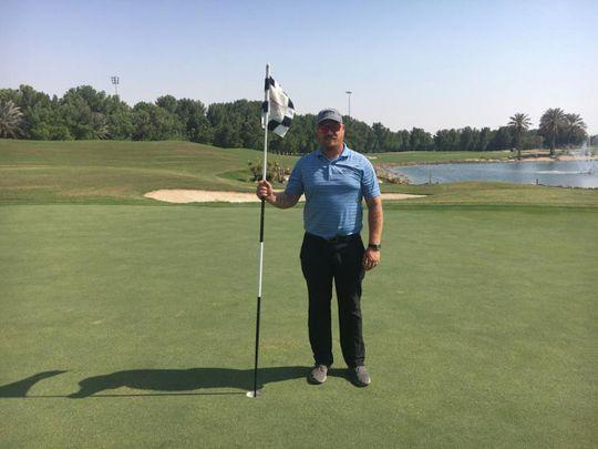 Abu Dhabi Golf Club's new Golf Course Superintendent Richard-Dean Geyer