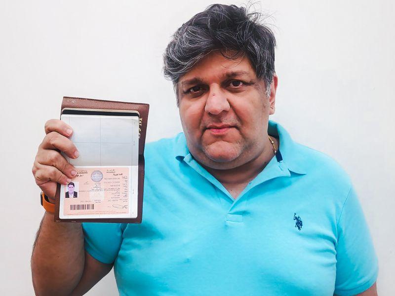 Bharat Mehra received the UAE Golden Visa