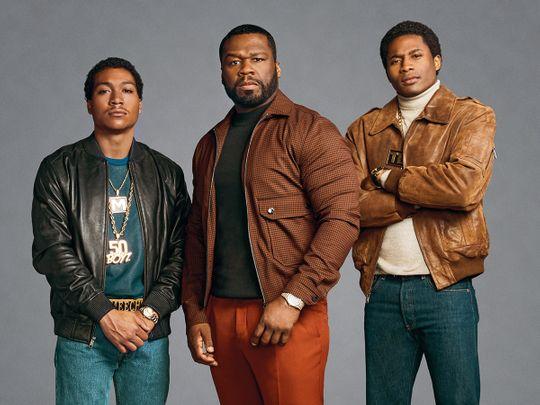 Demetrius Flenory Jr, 50 Cent and Da'Vinchi