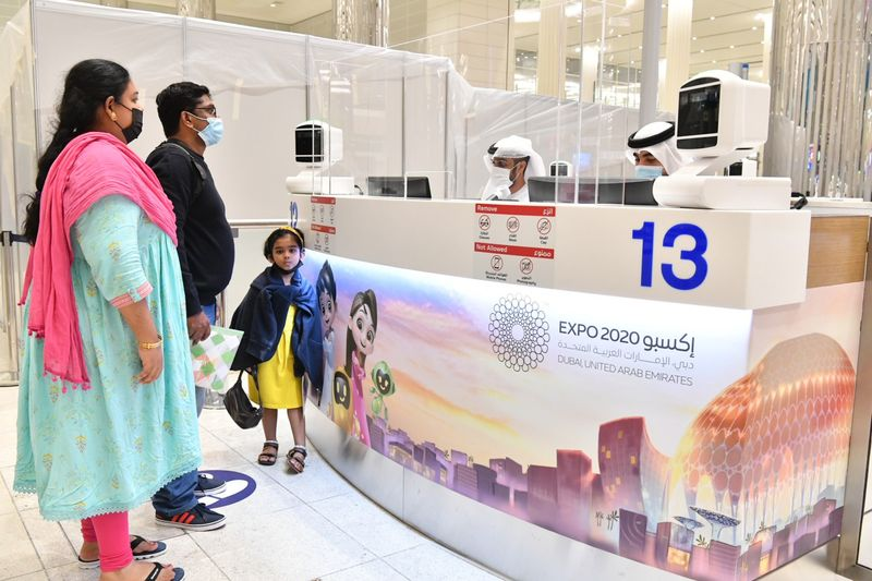 NAT Special expo counters at dubai airport-1633003571852