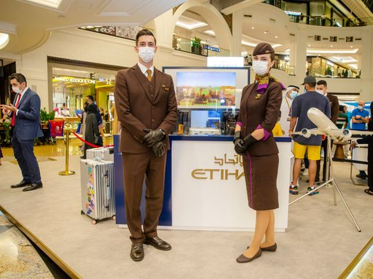Stock - Etihad Airways